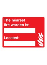 The Nearest Fire Warden Is