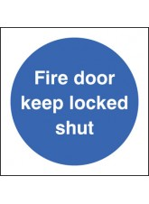 Fire Door Keep Locked Shut