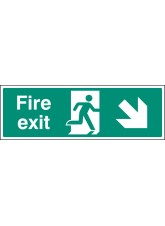 Fire Exit - Down and Right