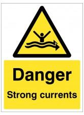 Danger Strong Currents