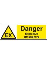 Danger Explosive Atmosphere