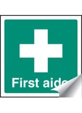 First Aider - Sticker - 25 x 25mm