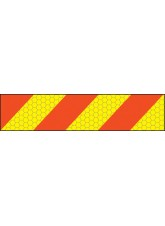 ECE70 Vehicle Marking Plate - Left Hand Chevron - 600 x 140mm