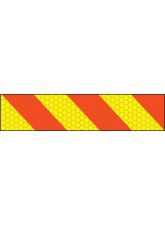 ECE70 Vehicle Marking Plate - Right Hand Chevron - 600 x 140mm