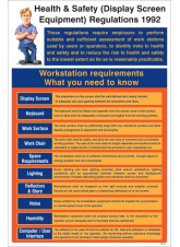 Display Screen Equipment Regulations 1992 Poster