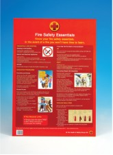 A2 Poster - Fire Safety Essentials