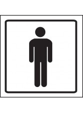 Gents Symbol - Visual Impact Sign